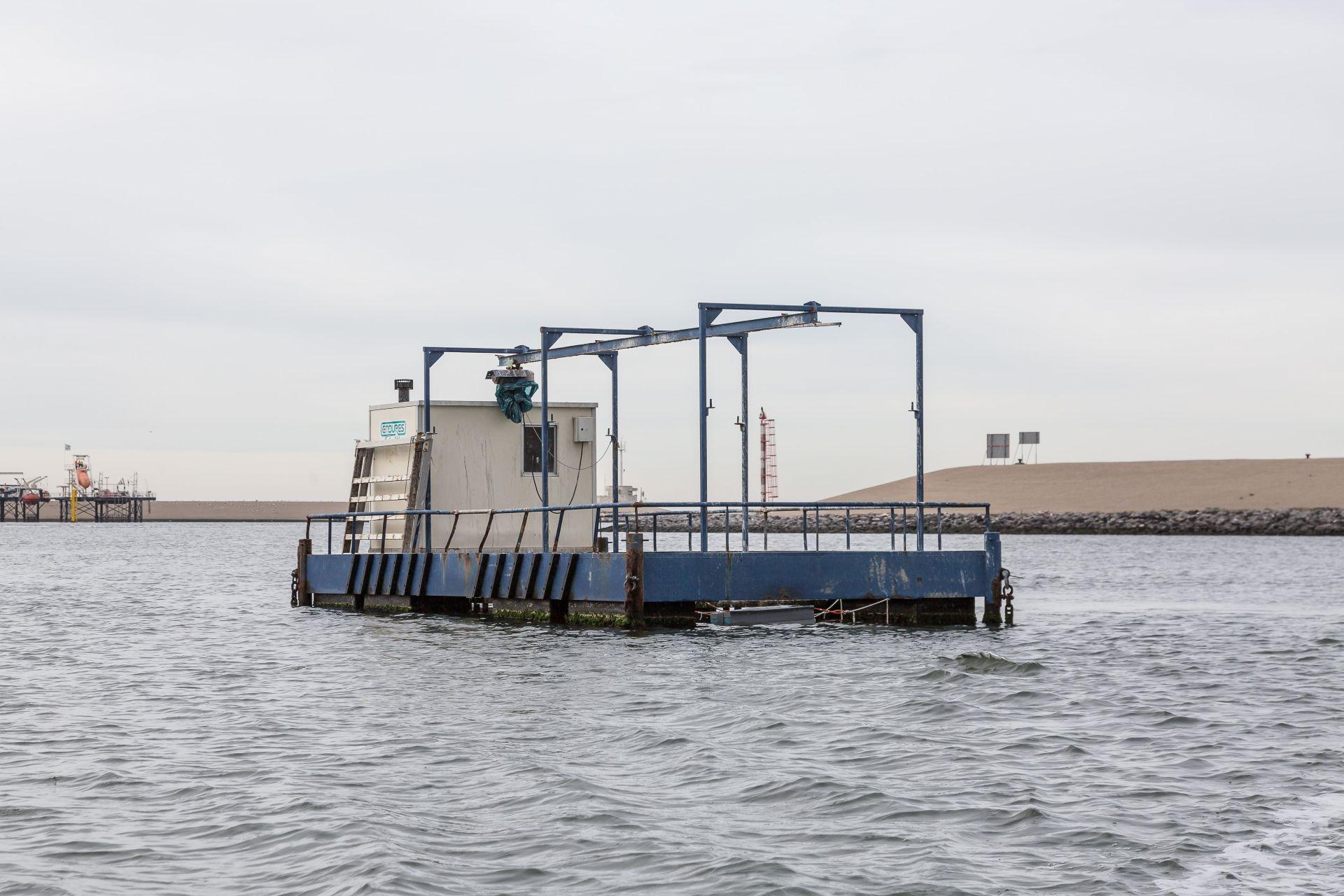 Solar@Sea test rig