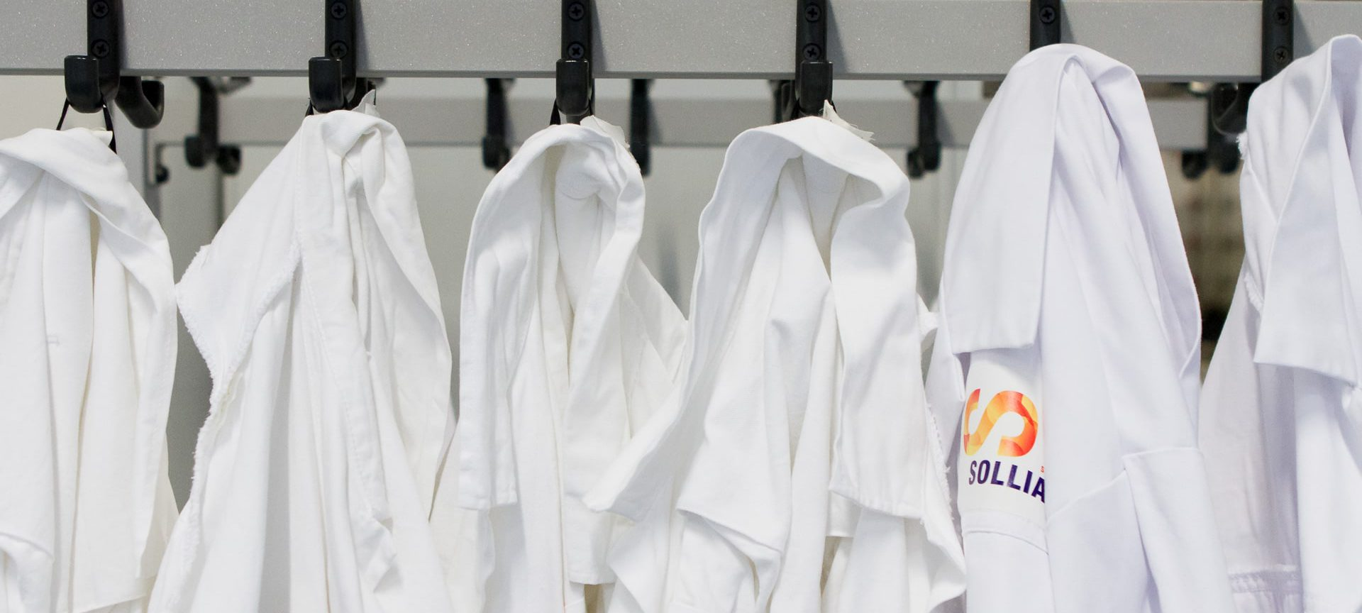 Solliance lab coats